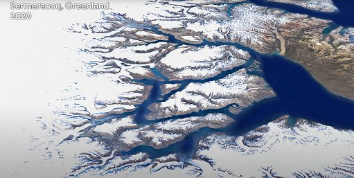 Google Earth Timelapse: com'? mutato il nostro pianeta in 37 anni