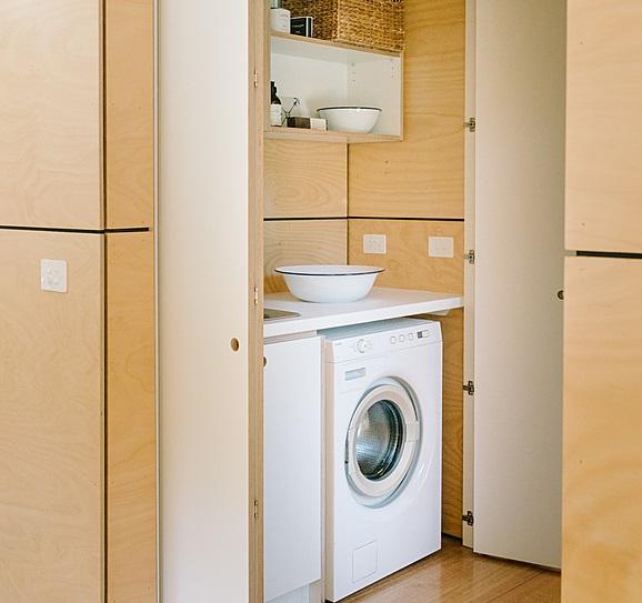 Lo spazio per la lavatrice