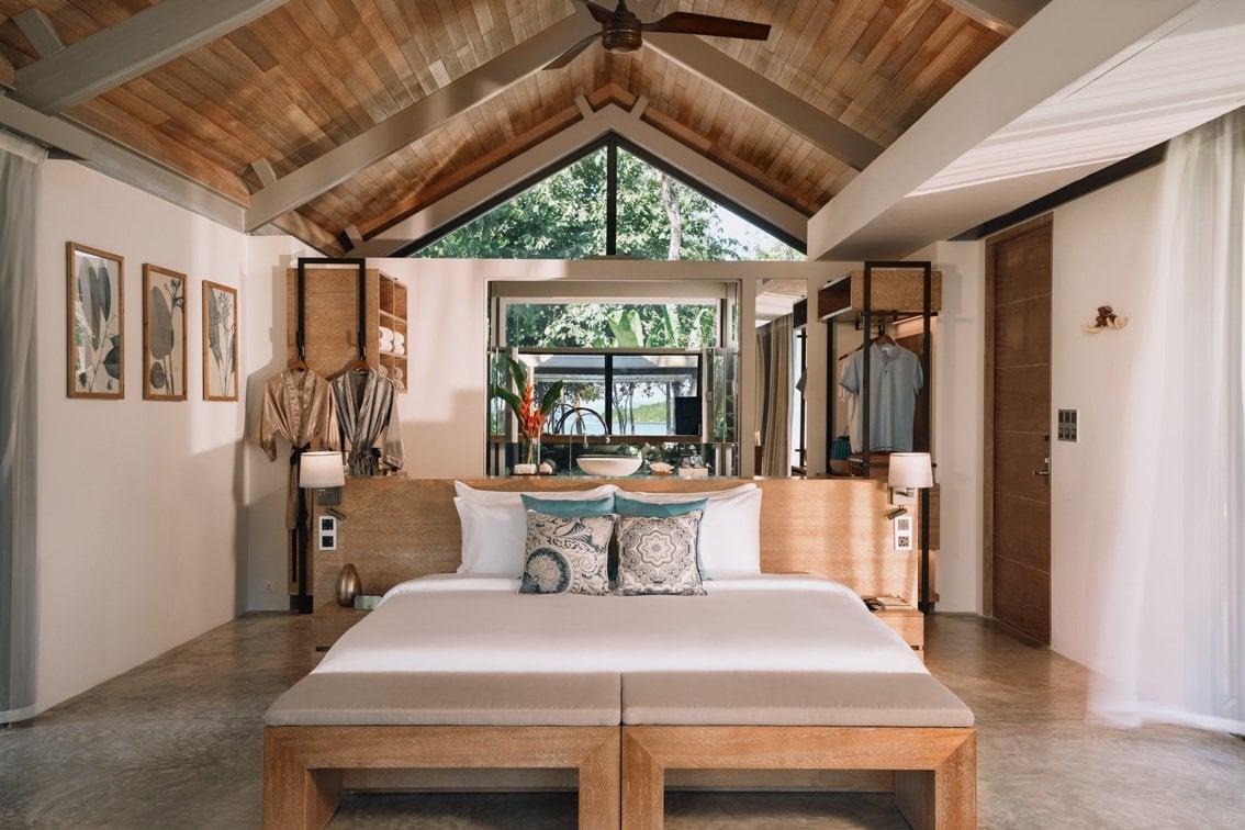 Un letto grande