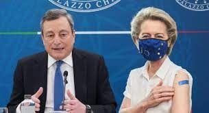 ##Pnrr,domani von der Layen da Draghi con l'ok formale all'Italia