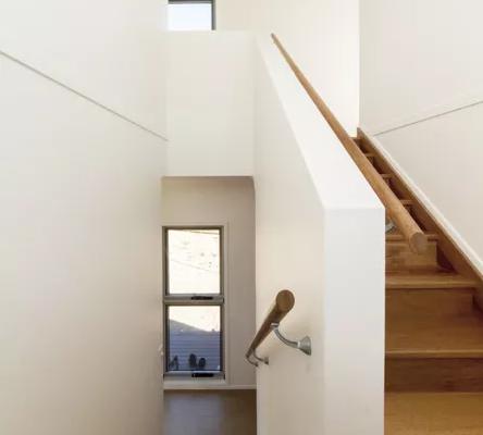 La casa è su due piani