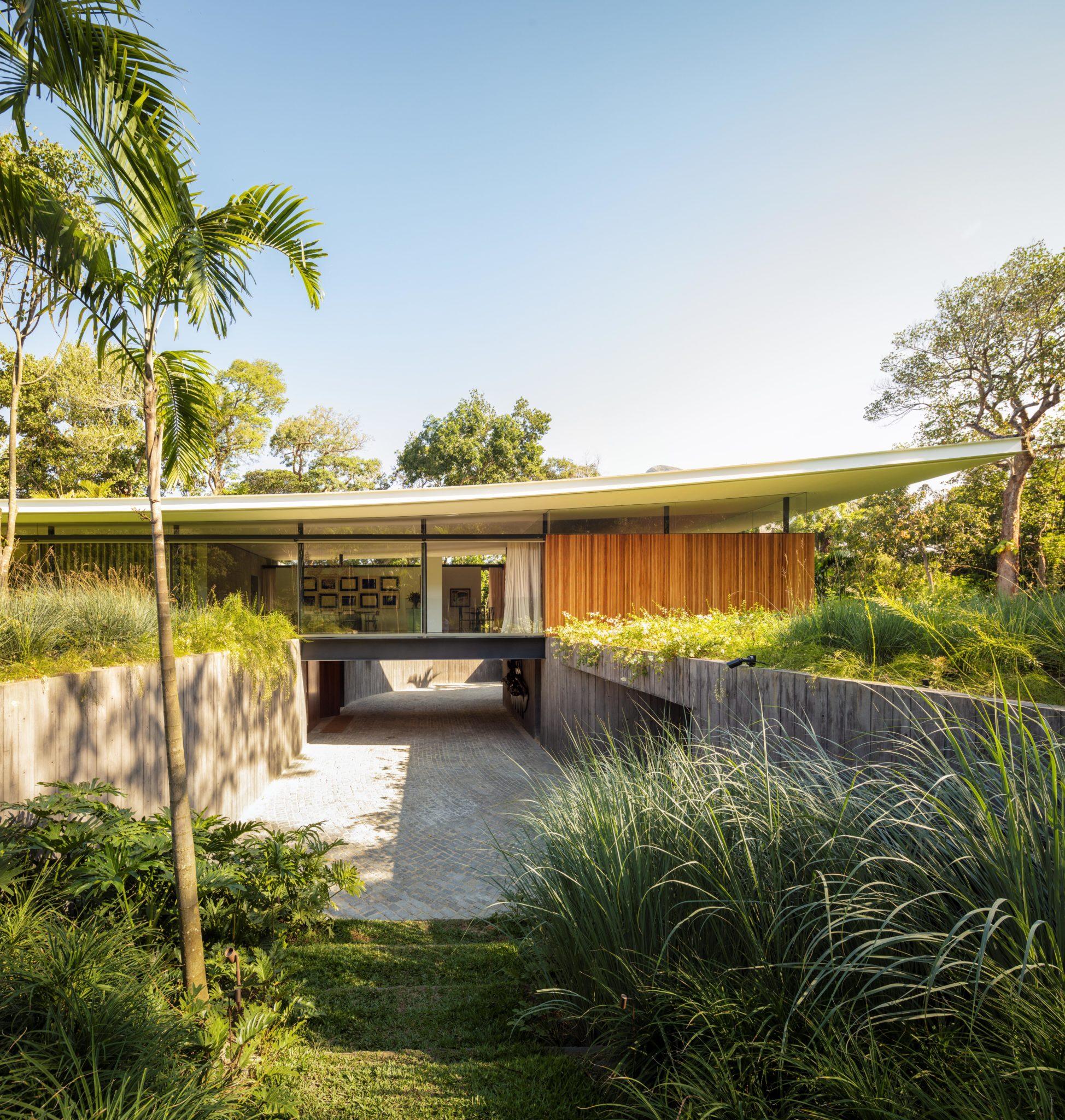 Cerca l'armonia tra paesaggio e architettura