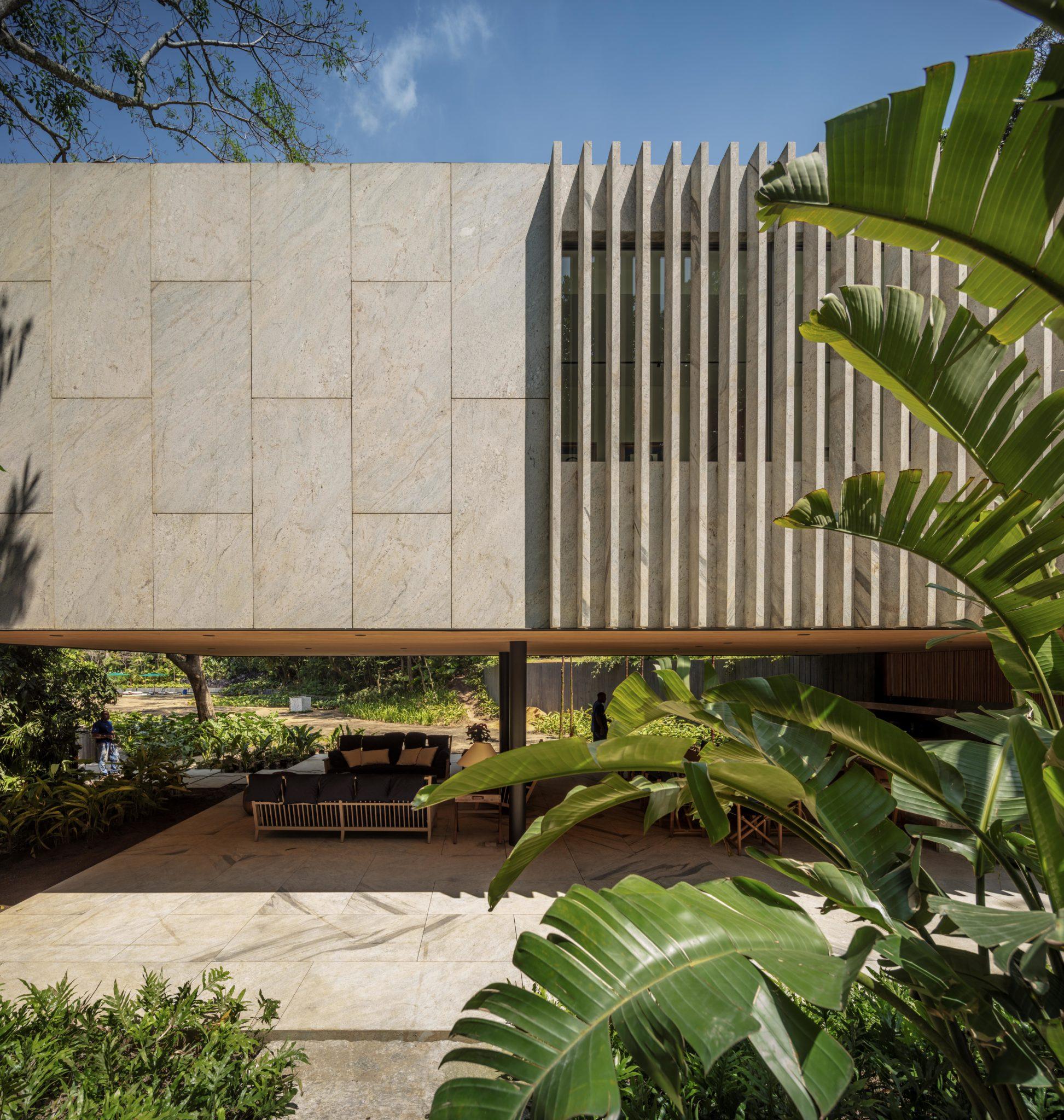 E' un progetto di Bernardes Arquitetura