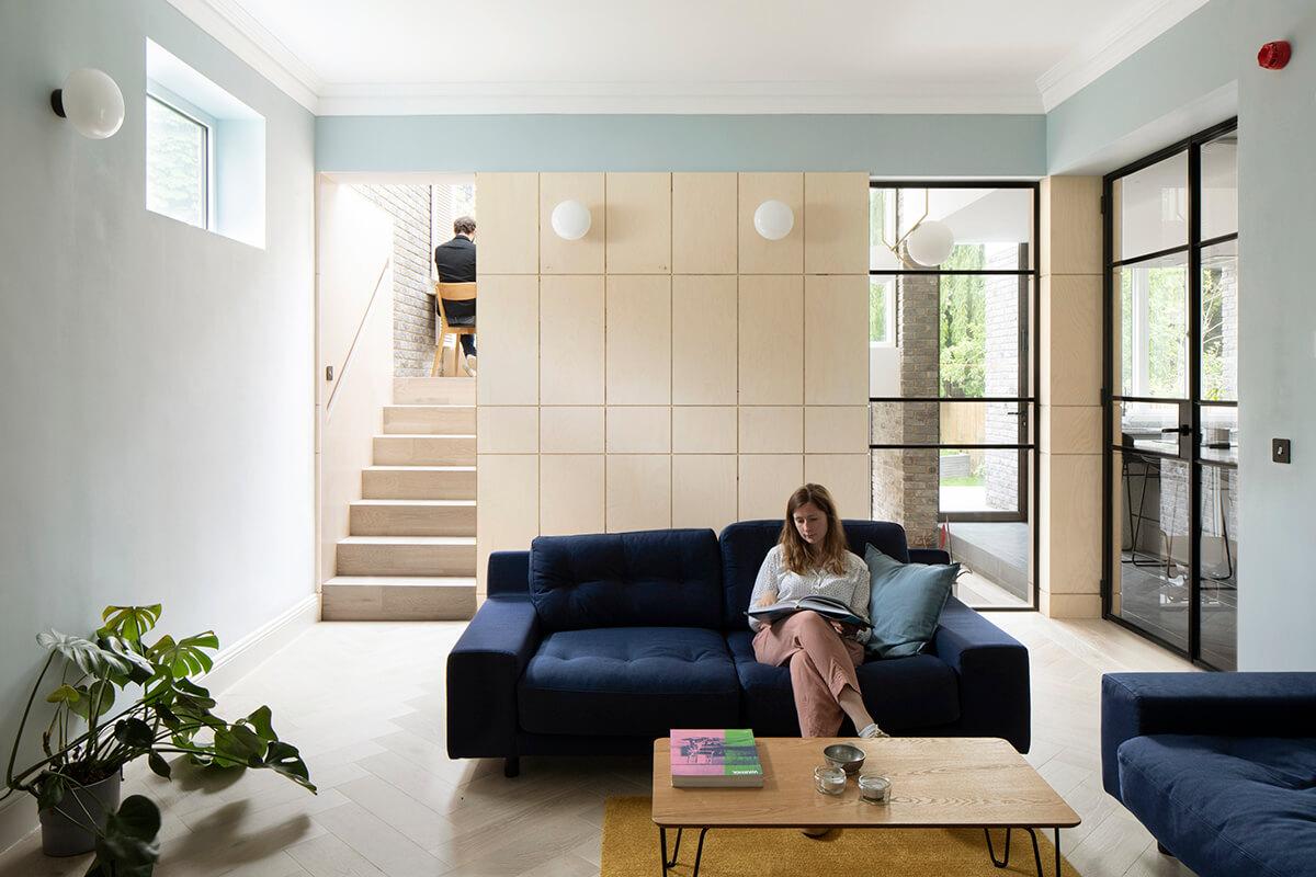 E' un progetto dello studio di architettura Selencky Parsons