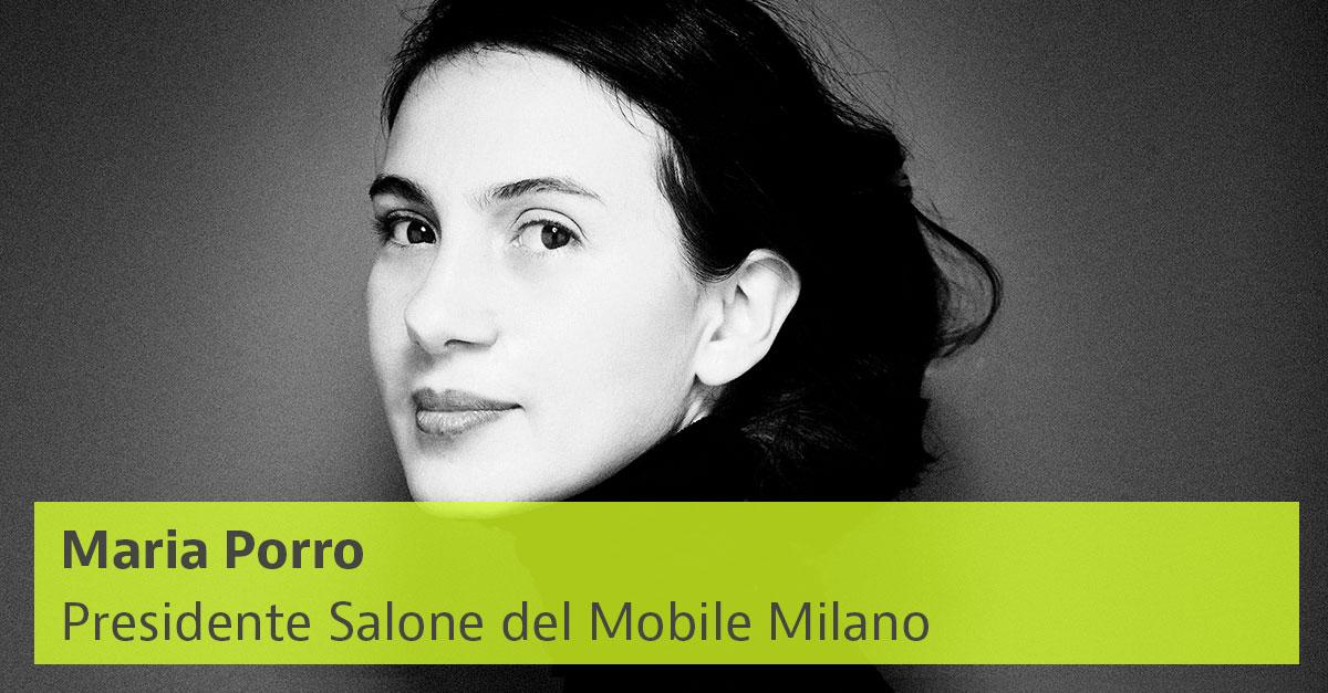 Maria Porro, presidente Salone del Mobile 2021 / Giovanni Gastel/idealista/news
