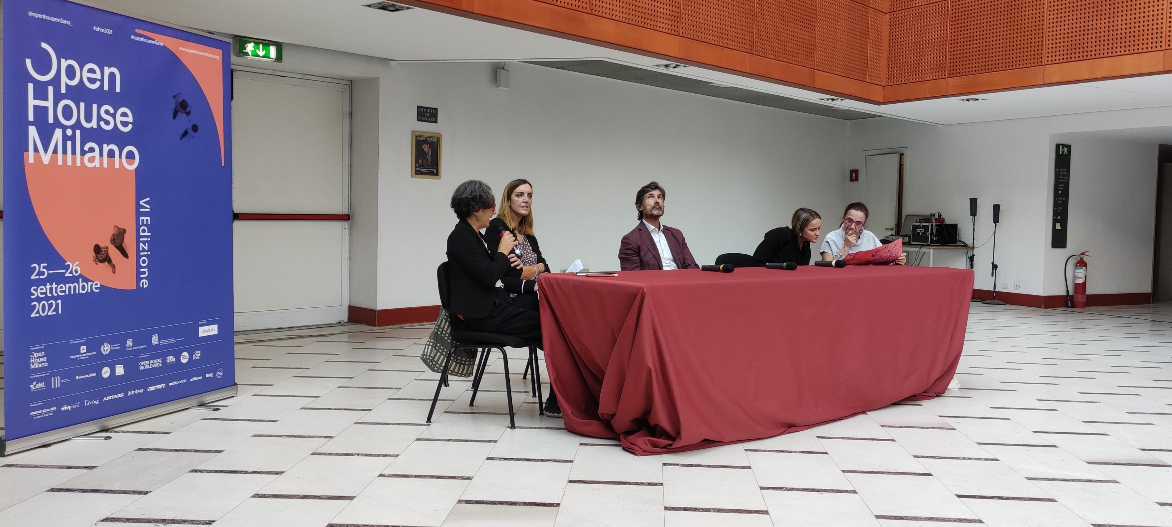La Conferenza stampa di presentazione di Open House Milano