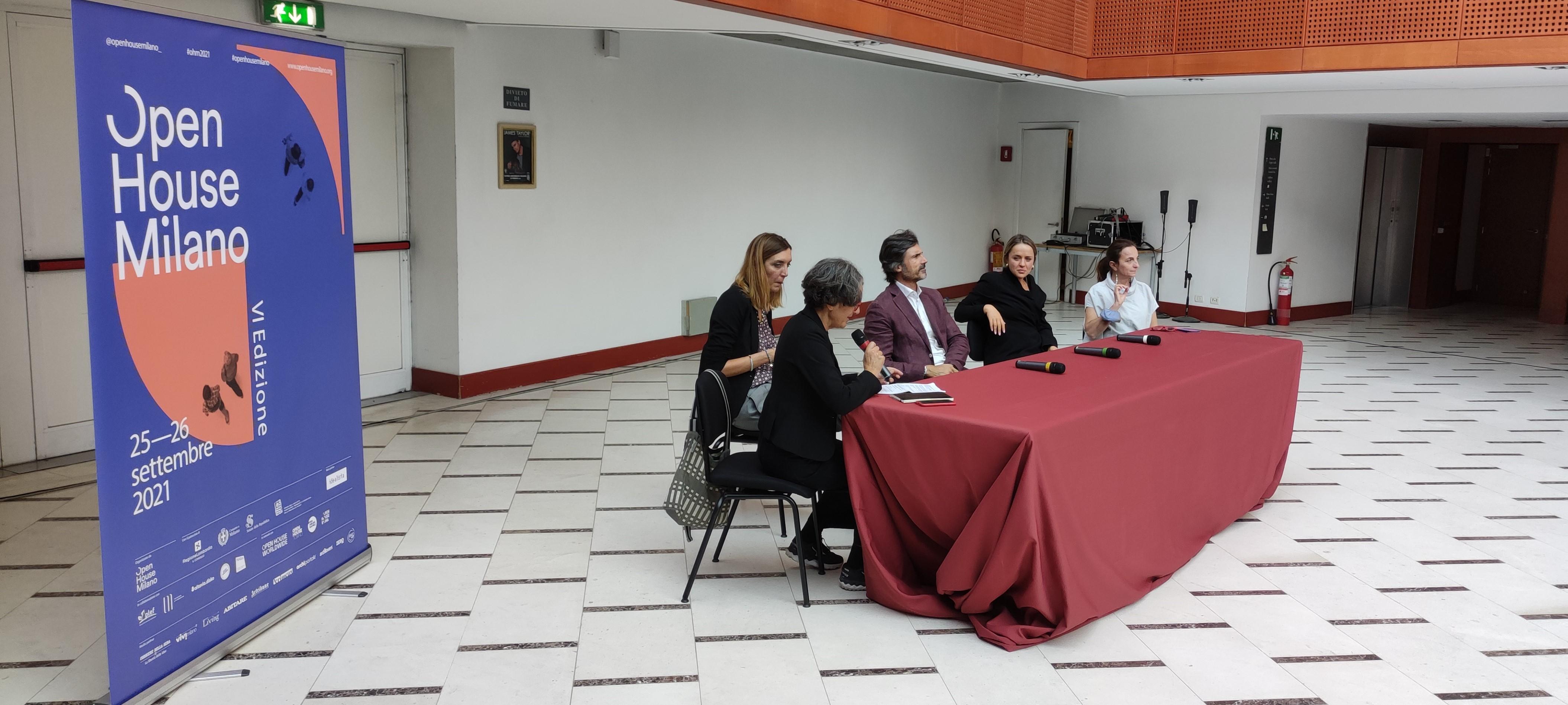 La conferenza stampa di presentazione dell'Open House Milano