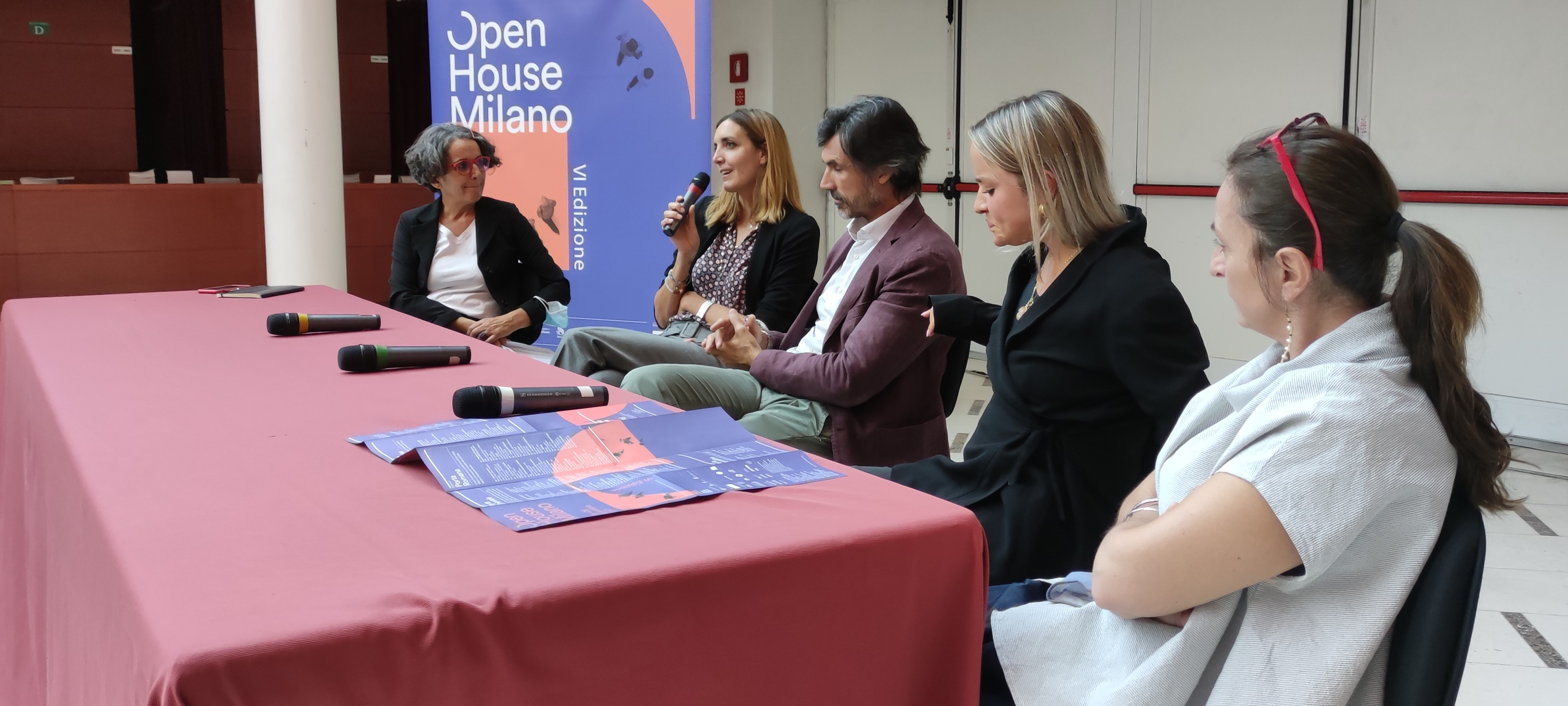 Presentazione dell'Open House Milano