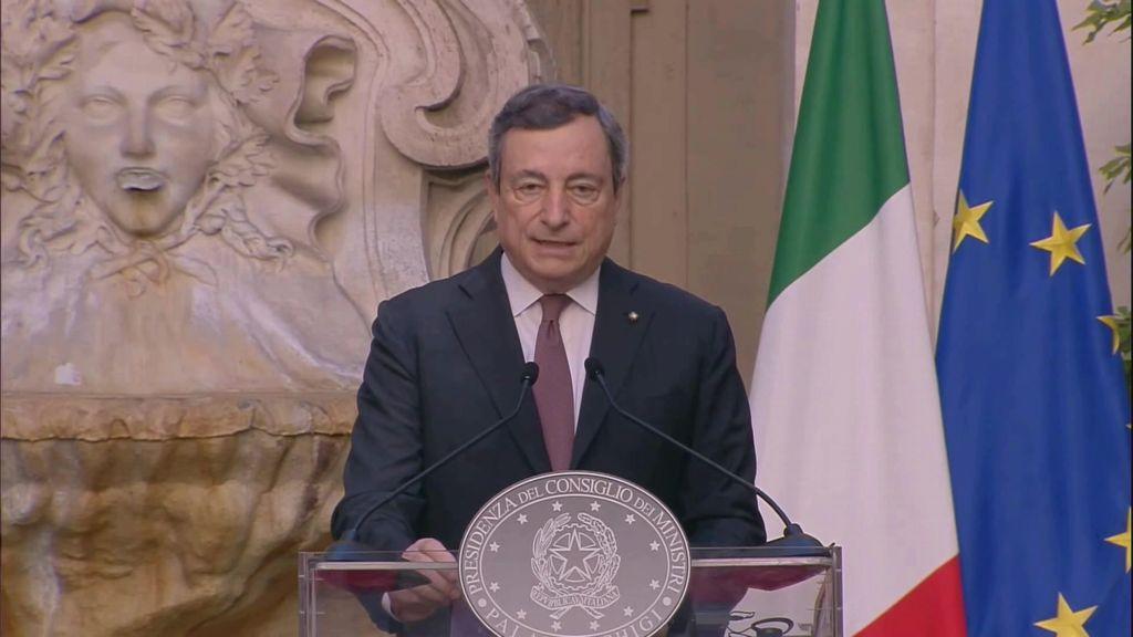 Energia, Draghi: continuo impegno governo contro caro-bolletta
