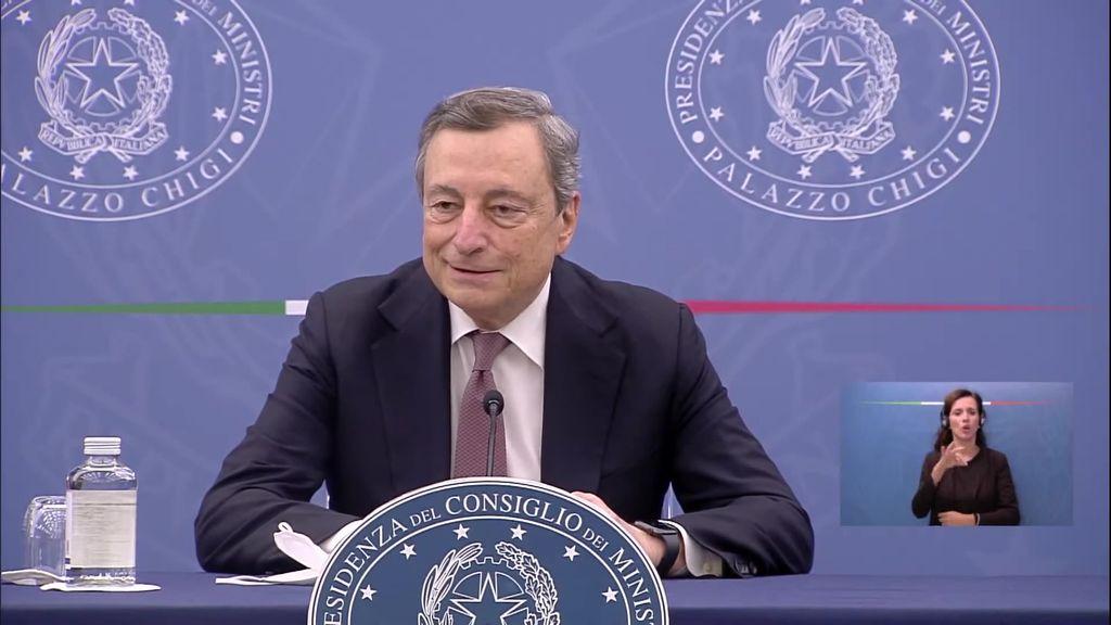 """## Draghi al lavoro sulla manovra, nodo pensioni e """"grana"""" cashback"""