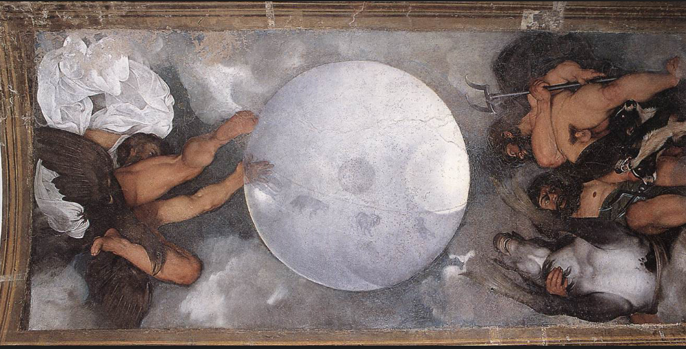L'affesco di Caravaggio nel Casino dell'Aurora