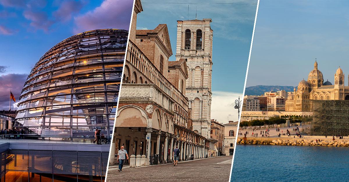 Le migliori città in Europa per passeggiare