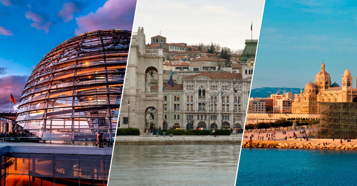 Le 6 migliori città in Europa per passeggiare