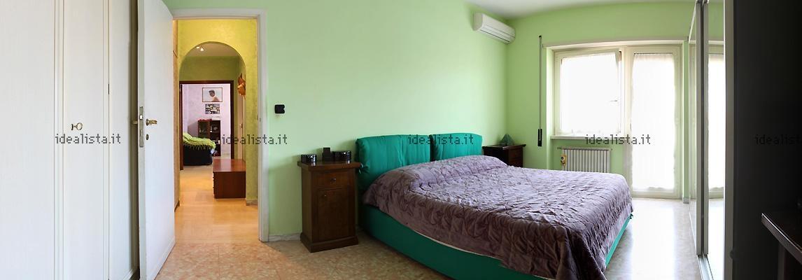 Camere moderne singole verdi for Colore pareti camera da letto mobili bianchi