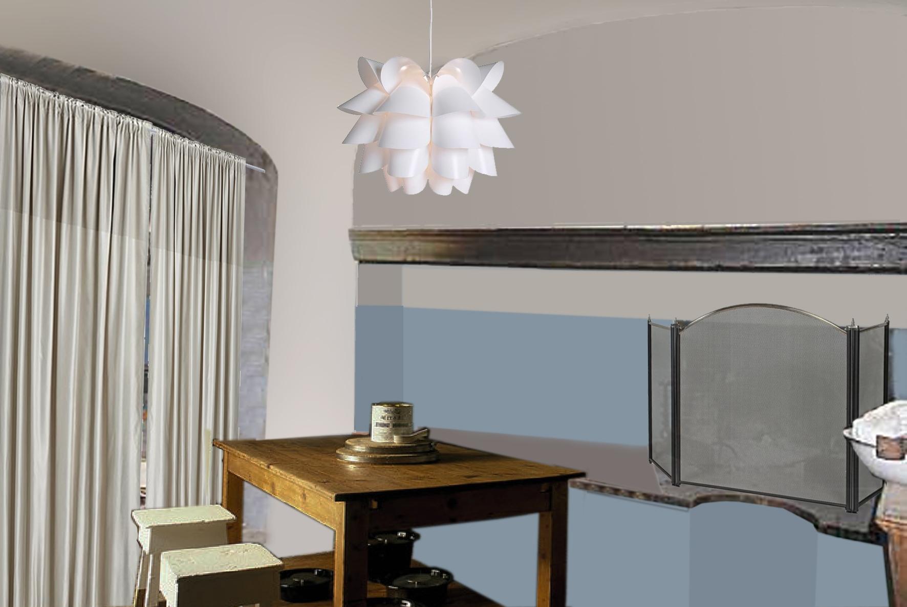 Di Un Grosso Lampadario Centrale Assolutamente Moderno E Di Design #977134 1772 1187 La Sala Da Pranzo Wikipedia
