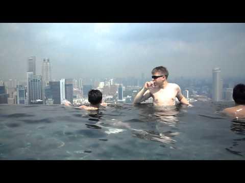 L 39 hotel di singapore in cui nuotare sul tetto del mondo - Albergo a singapore con piscina sul tetto ...