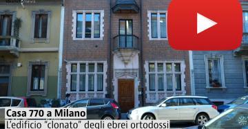 Una visita alla Casa 770, il misterioso edificio degli ebrei ortodossi a Milano