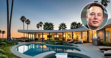 Elon Musk mette in vendita la sua villa di Los Angeles per quattro milioni di euro