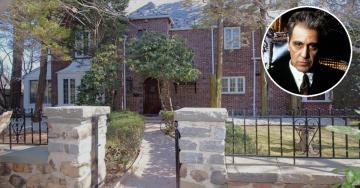 """La casa di New York in cui viveva Al Pacino (Michael Corleone) nel film """"Il Padrino"""" è in vendita"""
