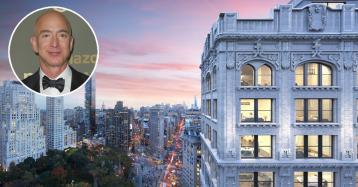 Jeff Bezos acquista un attico di tre piani da 80 milioni a New York