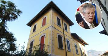 Umberto Bossi vende casa, su idealista la villa dei summit con la Lega e il governo