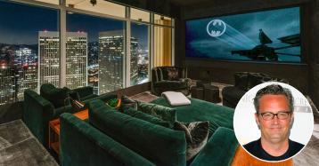 L'attore Matthew Perry di Friends mette in vendita uno spettacolare attico a Los Angeles