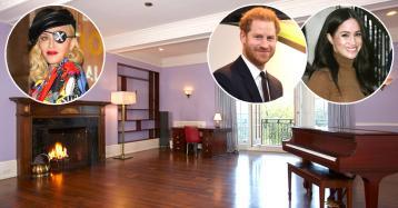 """La proposta di Madonna a Harry e Meghan: """"Il Canada è noioso, vi affitto casa a New York"""""""