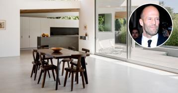 L'attore Jason Statham vende la sua villa di Hollywood Hills per 7 milioni di dollari