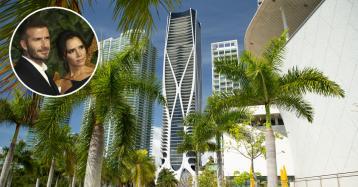 La famiglia Beckham compra un appartamento in un edificio di Zaha Hadid a Miami