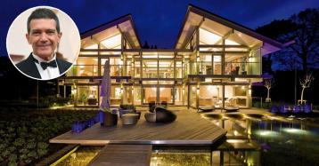 Antonio Banderas compra una casa prefabbricata di lusso per tre milioni di euro