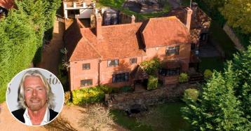 La casa dove è cresciuto il magnate Richard Branson in vendita per 4,5 milioni di euro