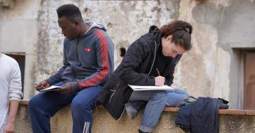 Studenti inglesi a Belmonte Calabro: il progetto di south learning alla casa di Belmondo