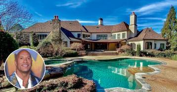 L'attore Dwayne Johnson vende uno spettacolare ranch in Georgia per 6,1 milioni