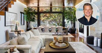 Matt Damon chiede 17,2 milioni per la sua casa a Los Angeles