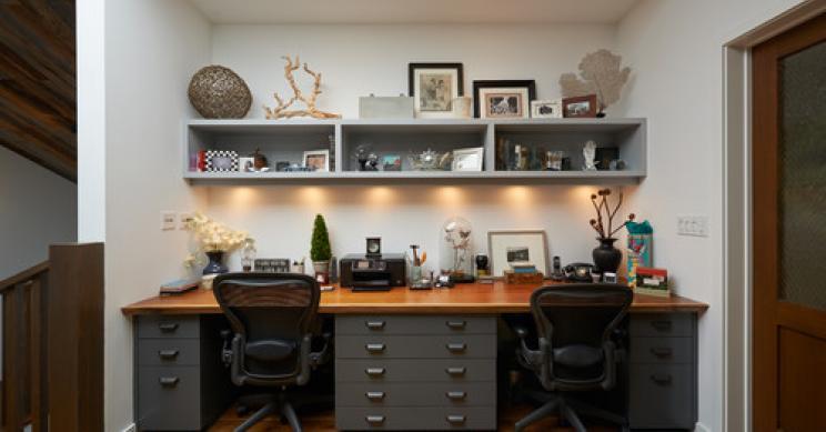 Favoloso 10 idee per arredare il tuo studio (fotogallery) — idealista/news HV68