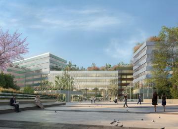Nel Segreen Business Park di Segrate i nuovi uffici di Olympus Italia