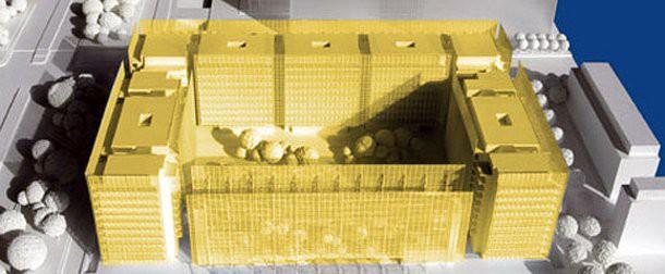 Roma, 300 appartamenti all'eur. Una casa di vetro firmata ...