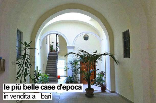 Le pi belle case d 39 epoca in vendita a bari e provincia for Arredamenti bari e provincia