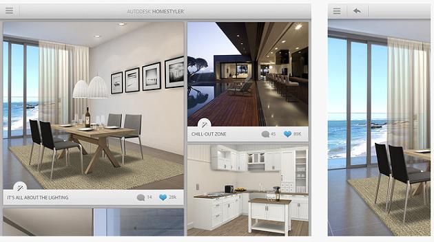 Autodesk homestyler una app gratuita per progettare la for App per progettare