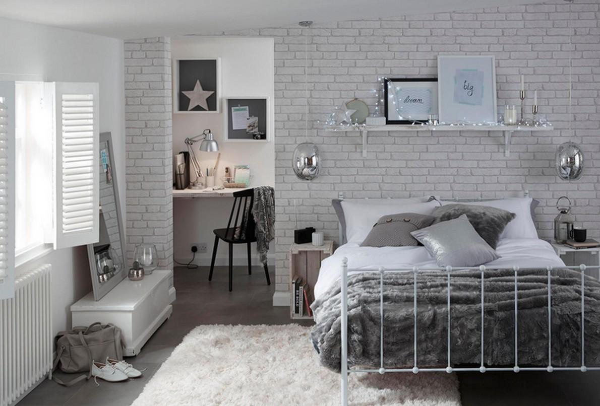 Come usare il colore bianco e il legno per arredare la tua for Idee per arredare la camera