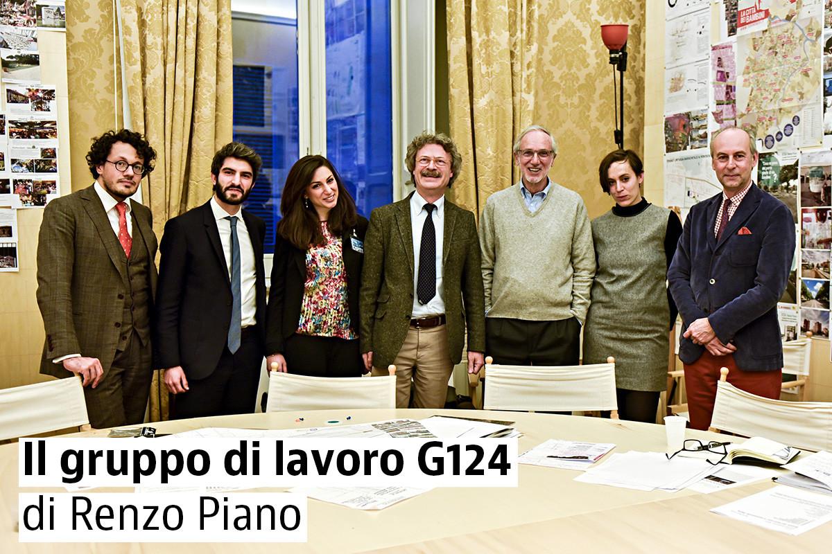 Architetto Catania Lavoro g124, un gruppo di giovani architetti alla corte di renzo