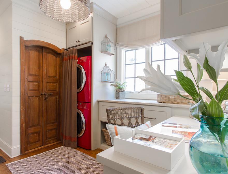 Idee Per Nascondere Cucina A Vista.Come Nascondere La Lavatrice In Casa 10 Consigli Utili