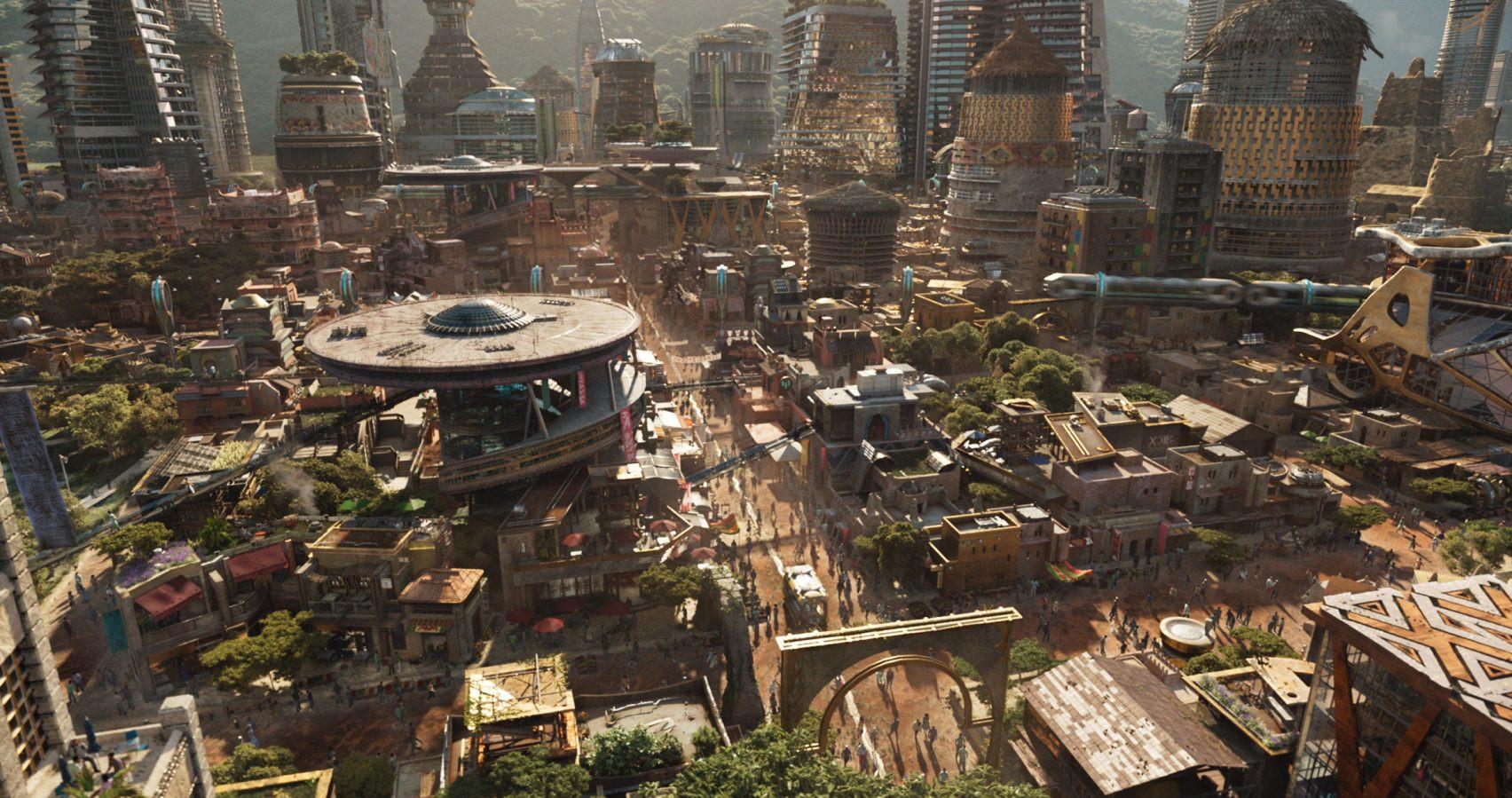 Black Panther ci mostra un'architettura ispirata a Zaha Hadid ...
