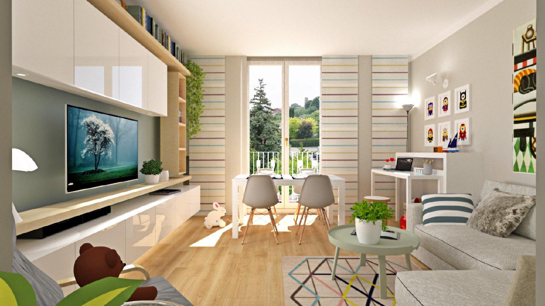 Arredare Spazi Piccoli come ricavare uno spazio per il bambino in una casa piccola