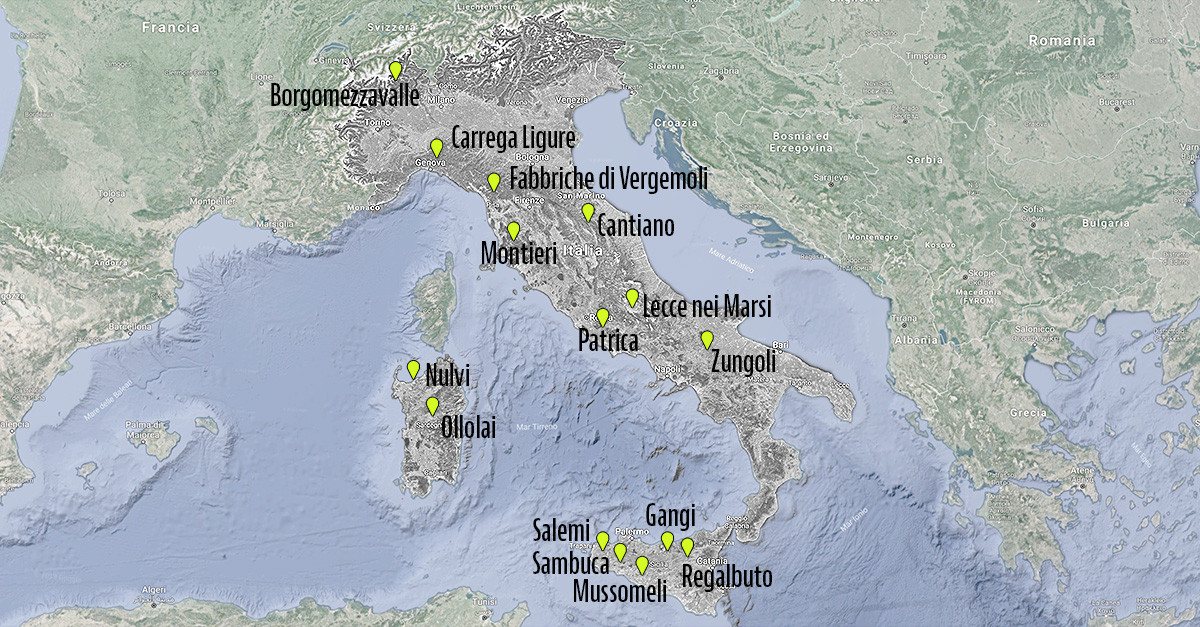 Cartina Campania Con Tutti Comuni.Case In Vendita A 1 Euro In Italia Idealista News