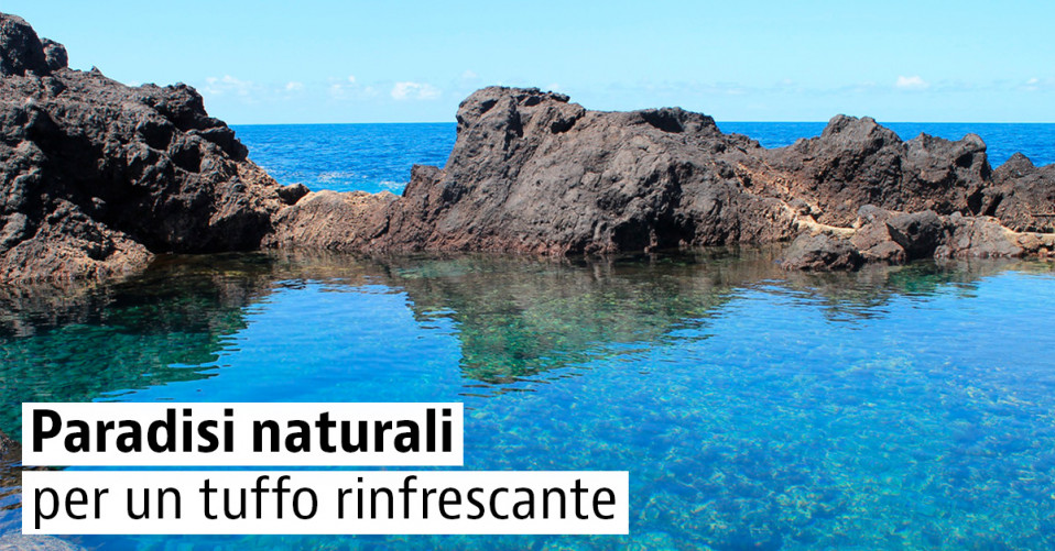 Le 5 piscine naturali gratuite più belle d'Italia