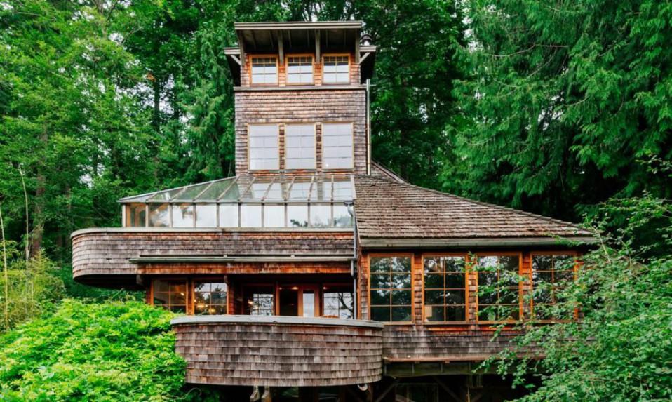 Case Di Tronchi Canadesi : Filosofoa e tecnica del team di vivere nel legno case coperture