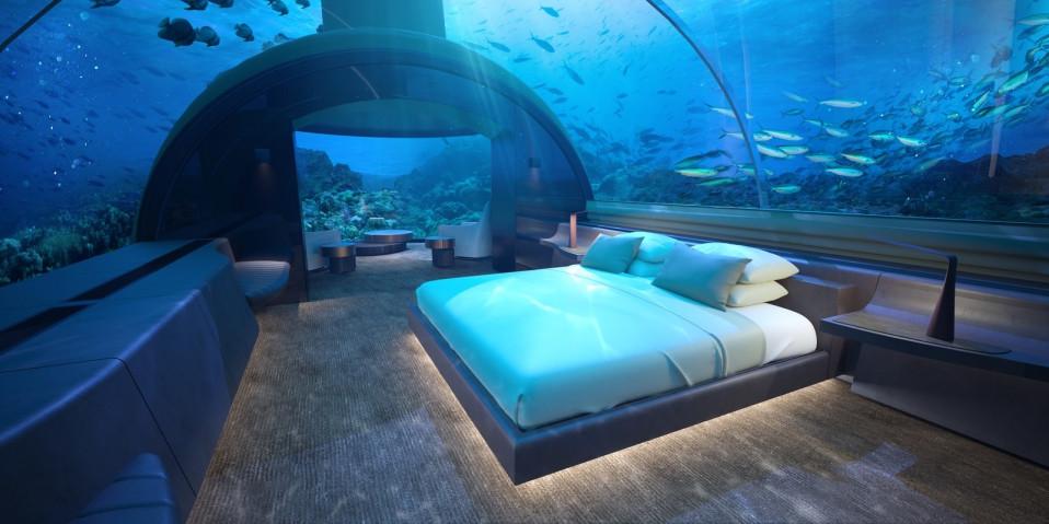 Stanza da letto sommersa