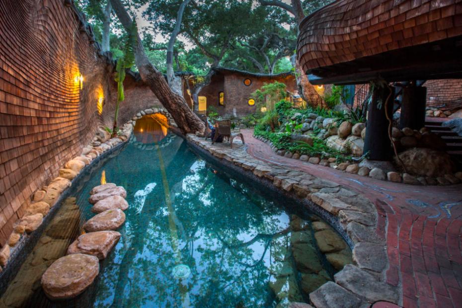 La piscina / paradiseretreats