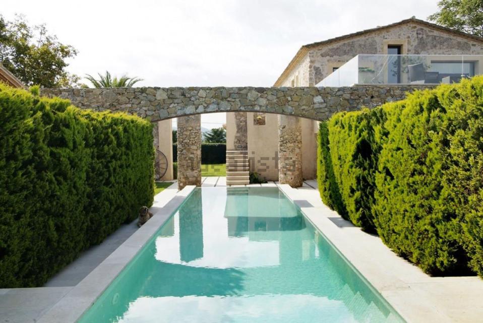 Una piscina privata